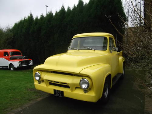1954 F100 Step-Side Pick up, V8, Automatic, Drives Well  SOLD (picture 2 of 6)