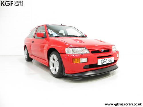 1992 An Iconic Big Turbo Ford Escort RS Cosworth with 8434 miles  SOLD (picture 1 of 6)