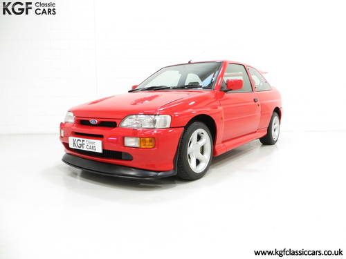 1992 An Iconic Big Turbo Ford Escort RS Cosworth with 8434 miles  SOLD (picture 2 of 6)