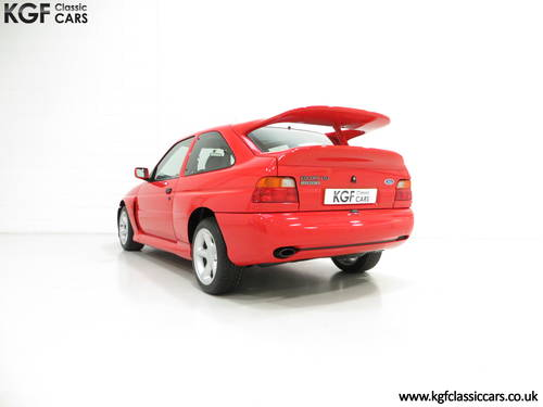 1992 An Iconic Big Turbo Ford Escort RS Cosworth with 8434 miles  SOLD (picture 4 of 6)