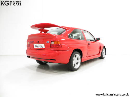 1992 An Iconic Big Turbo Ford Escort RS Cosworth with 8434 miles  SOLD (picture 5 of 6)