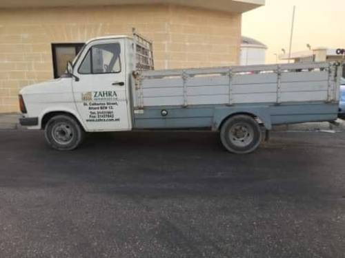 1986 FORD TRANSIT MK2 DIESEL PICK UP TRUCK VAN For Sale (picture 1 of 1)