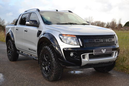 2015 65 Ford Ranger Wildtrak 3.2 TDCi 4x4 Auto Pickup NO VAT SOLD (picture 1 of 6)