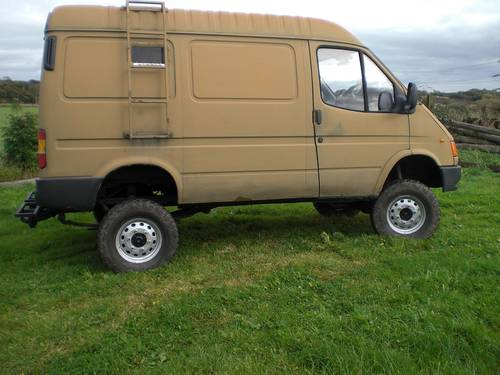 1998 Transit 4x4 County The Ultimate Winter Machine Sold Car And