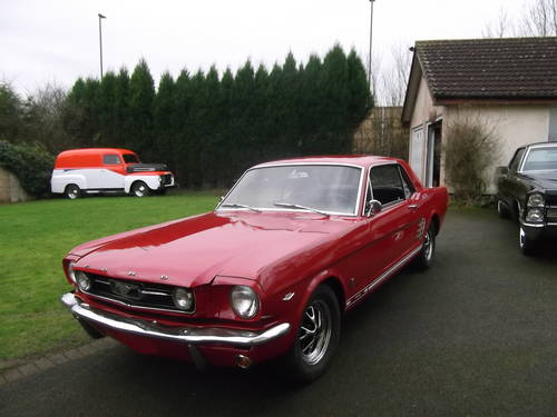 1966 Mustang GT 289 V8 A Code, 4 Speed Manual, Numbers Matching SOLD (picture 3 of 6)