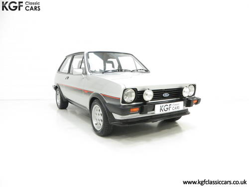 1982 An Iconic Ford Fiesta Mk1 XR2 with just 70,690 Miles SOLD (picture 1 of 6)