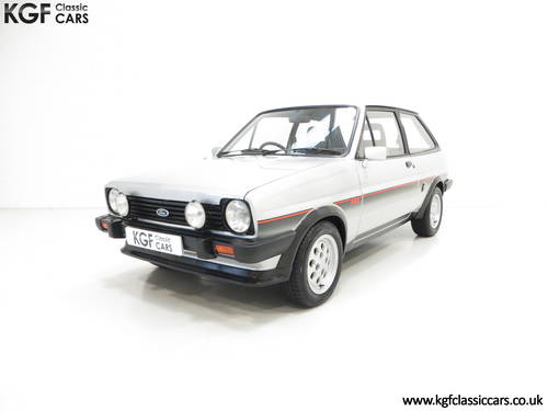 1982 An Iconic Ford Fiesta Mk1 XR2 with just 70,690 Miles SOLD (picture 2 of 6)