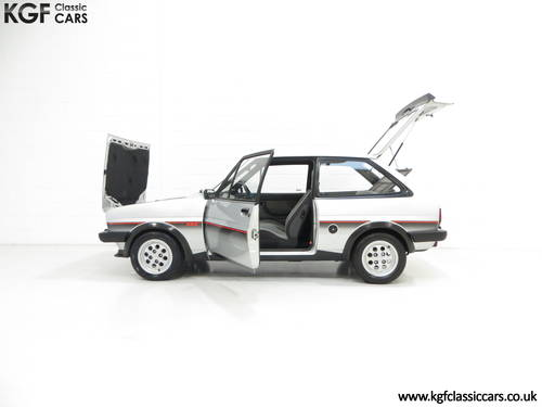 1982 An Iconic Ford Fiesta Mk1 XR2 with just 70,690 Miles SOLD (picture 3 of 6)
