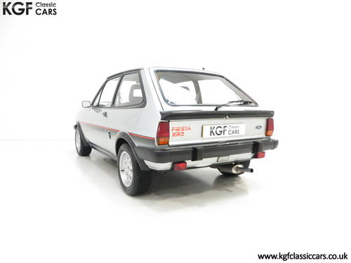 1982 An Iconic Ford Fiesta Mk1 XR2 with just 70,690 Miles SOLD (picture 4 of 6)