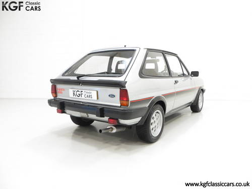 1982 An Iconic Ford Fiesta Mk1 XR2 with just 70,690 Miles SOLD (picture 5 of 6)
