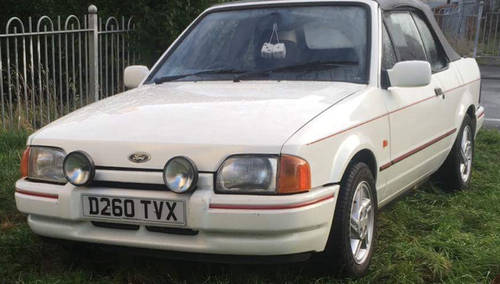 1986 Ford Escort Xr3i 1 6i Cabriolet Sold Car And Classic