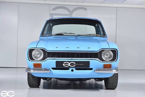 1972 MK1 Ford Escort Mexico - Olympic Blue with Dark Blue Stripes SOLD (picture 1 of 6)