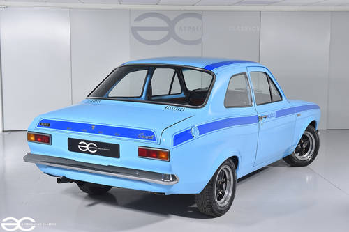 1972 MK1 Ford Escort Mexico - Olympic Blue with Dark Blue Stripes SOLD (picture 3 of 6)
