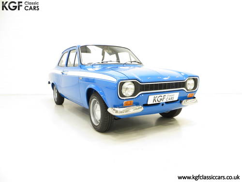 1971 An Award Winning Early AVO Ford Escort Mexico SOLD (picture 1 of 6)