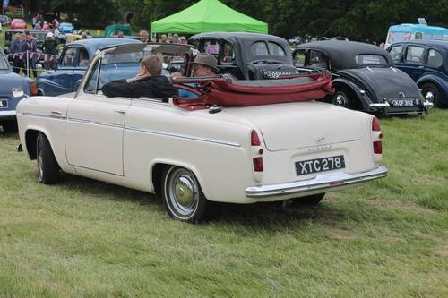 1955 VERY RARE Ford Anglia Convertible For Sale (picture 2 of 5)