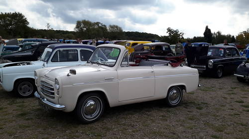 1955 VERY RARE Ford Anglia Convertible For Sale (picture 4 of 5)