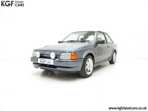 1987 A Collectors Ford Escort RS Turbo Series 2 with One Owner SOLD (picture 2 of 6)