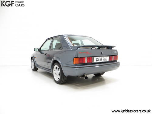 1987 A Collectors Ford Escort RS Turbo Series 2 with One Owner SOLD (picture 4 of 6)