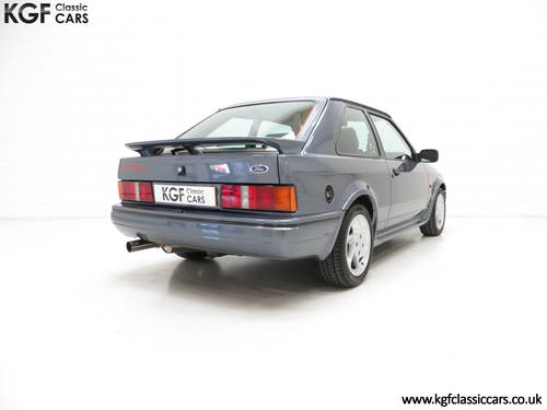 1987 A Collectors Ford Escort RS Turbo Series 2 with One Owner SOLD (picture 5 of 6)