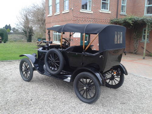 Ford Model T Touring 1917 Thousands Spent 2 Owners Since 81 SOLD (picture 2 of 6)