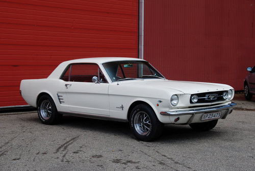 1966 Ford Mustang 289cui / 4,7 l LHD For Sale (picture 1 of 6)