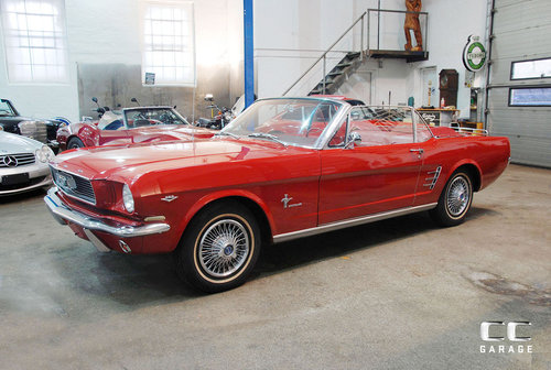 1966 Ford Mustang 289cui Convertible LHD For Sale (picture 1 of 6)
