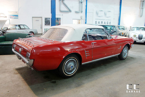 1966 Ford Mustang 289cui Convertible LHD For Sale (picture 2 of 6)