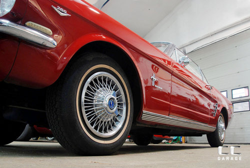 1966 Ford Mustang 289cui Convertible LHD For Sale (picture 3 of 6)