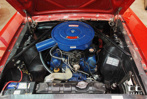 1966 Ford Mustang 289cui Convertible LHD For Sale (picture 5 of 6)
