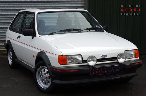 Ford Fiesta XR2, 1986, 32,000 miles, 1 owner from new, White SOLD (picture 1 of 5)