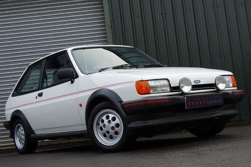 Ford Fiesta XR2, 1986, 32,000 miles, 1 owner from new, White SOLD (picture 2 of 5)