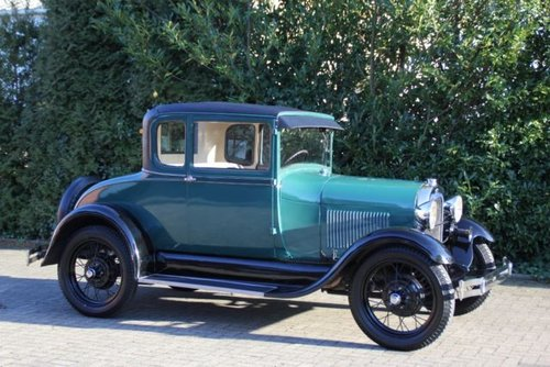 Ford Model A Business Coupe, 1929, 16.900,- Euro For Sale (picture 1 of 6)