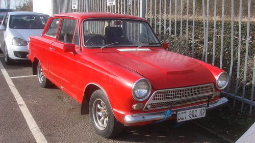 1963 MK1 FORD CORTINA 1600 SOLD (picture 1 of 6)