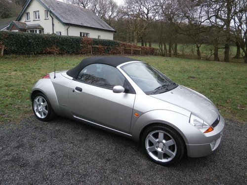 2006 FORD STREETKA RED LTD EDT SILVER/RED 33K P/X BARGAIN! SOLD (picture 1 of 6)