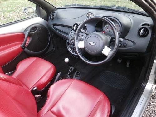 2006 FORD STREETKA RED LTD EDT SILVER/RED 33K P/X BARGAIN! SOLD (picture 5 of 6)