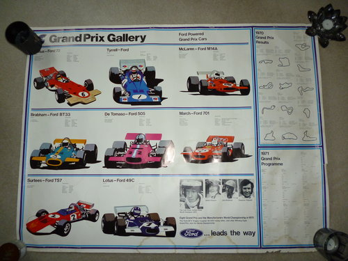 Ford Powered Grand Prix Poster For Sale (picture 1 of 6)