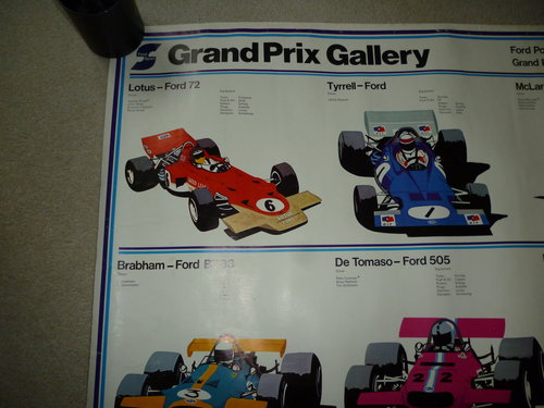 Ford Powered Grand Prix Poster For Sale (picture 4 of 6)