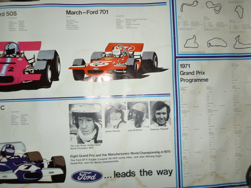 Ford Powered Grand Prix Poster For Sale (picture 5 of 6)