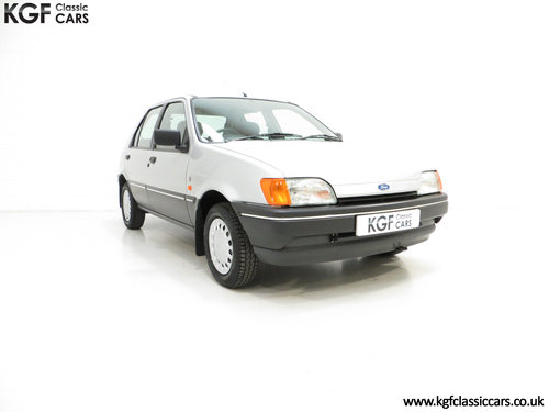 1992 A Delivery Mileage Ford Fiesta Mk3 1.4 Ghia with 137 miles! SOLD (picture 1 of 6)