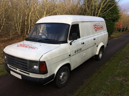 3a408a87421176 ... 1986 Mk2 Transit van - RHD