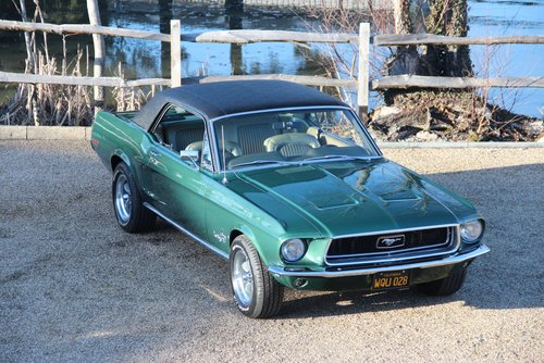 1968 68 Ford Mustang V8 302 Coupe For Sale (picture 1 of 6)