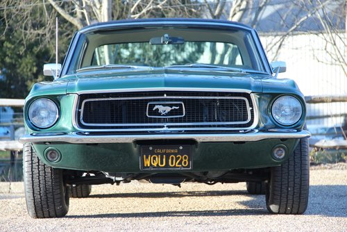 1968 68 Ford Mustang V8 302 Coupe For Sale (picture 2 of 6)
