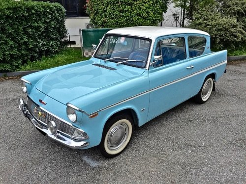 1962 Ford - Anglia 106E Deluxe FULLY RESTORED SOLD (picture 1 of 6)