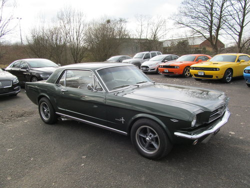 1965 Ford Mustang 4.6L V8 Notchback SOLD (picture 1 of 6)