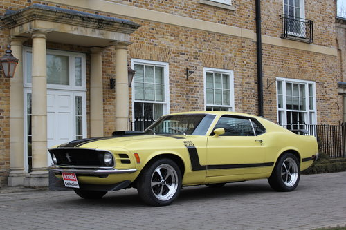 1970 Ford Mustang Boss 302 5.0L For Sale (picture 1 of 6)
