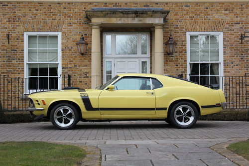 1970 Ford Mustang Boss 302 5.0L For Sale (picture 2 of 6)