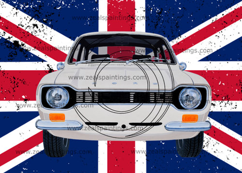 1971 Escort Mk1_Mexico T-Shirts, Stickers and more..... For Sale (picture 1 of 1)