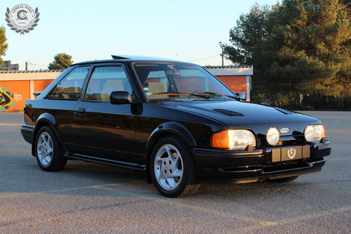 1987 Ford Escort Rs Turbo SOLD (picture 1 of 6)
