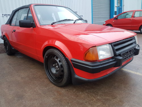 1984 Ford Escort Cabriolet - 1.8 Zetec For Sale (picture 1 of 6)