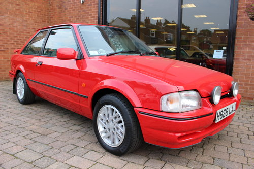 1990 Ford Escort XR3i  One owner - 7850 miles from new SOLD (picture 2 of 6)